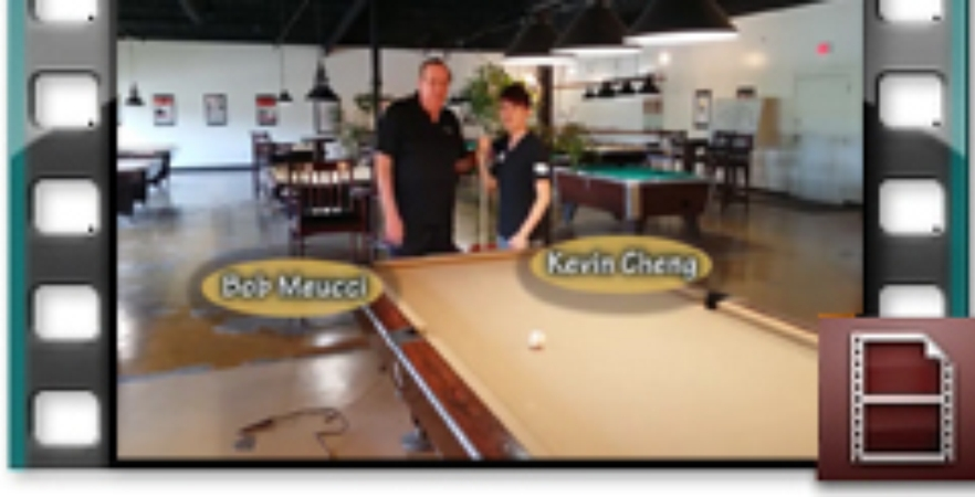 Kevin Cheng speaks on Meucci Cues with Bob Meucci